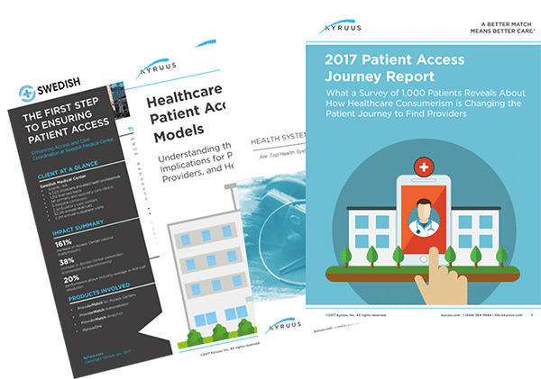 Patient Access and Patient Experience Content