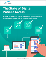 Kyruus - The State of Digital Patient Access Guide screenshot