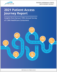 Kyruus Patient Access Journey 2021 (PAJR) screenshot w border