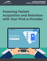 Powering Patient Acquisition and Retention with Your Find-a-Provider