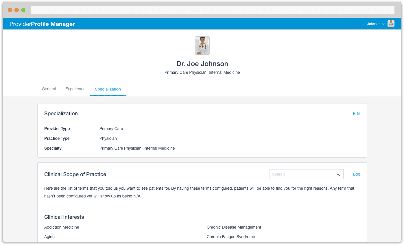 Profile Manager for pcp