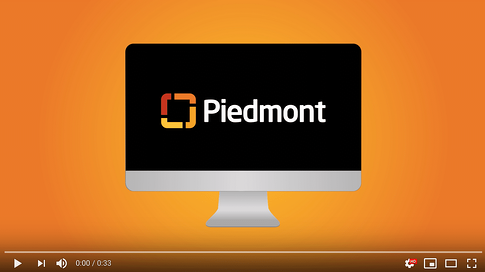 Video of Piedmont's Online Booking Experience