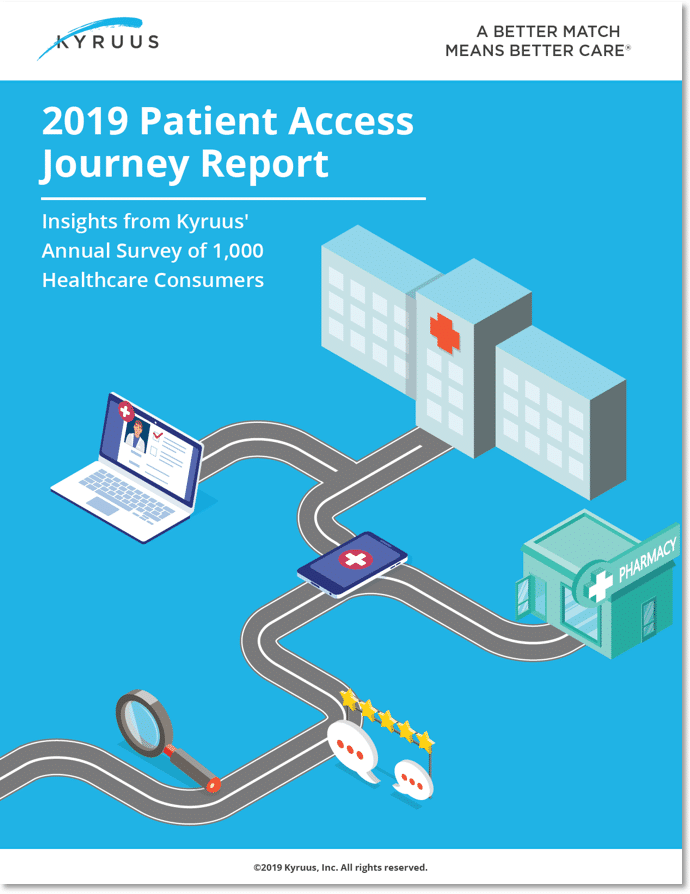 Patient Access Journey Report 2019