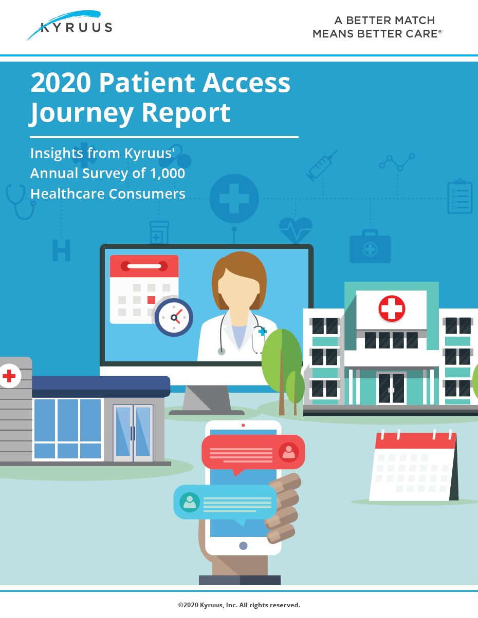 2020 Patient Access Journey cover image