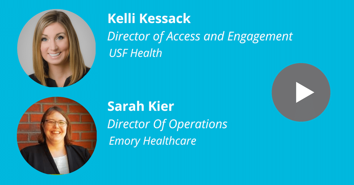 WEBINAR - THE CHANGING ROLE OF THE MODERN HEALTH SYSTEM ACCESS CENTER - Kyruus