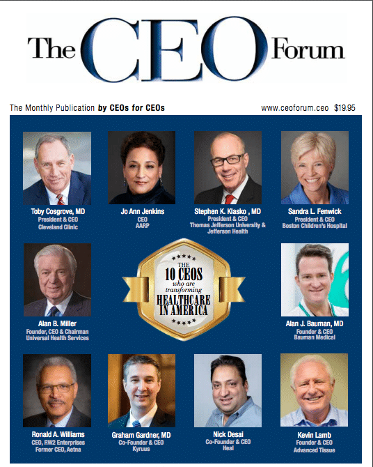 CEO Forum Feb 2018 Cover
