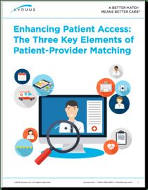 Patient-Provider Matching - Kyruus