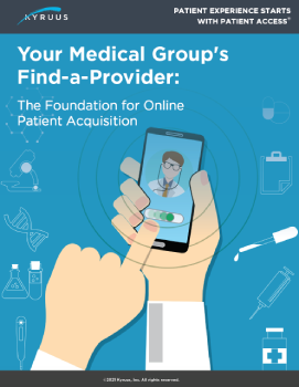 Your Medical Groups Find-a-Provider cover-2
